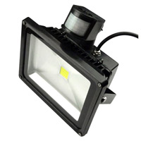 PIR LED flood light