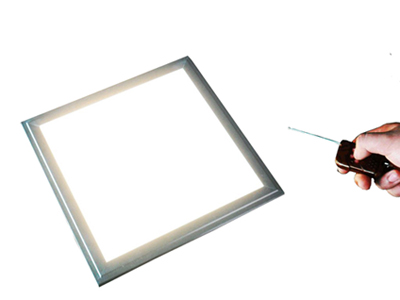 Brightness dimmable LED panel light